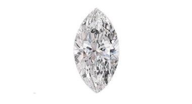 木の葉型のマーキースダイヤを婚約指輪にデザインする