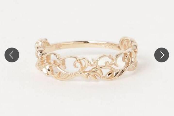 婚約指輪をオーダーデザインする時のベースになる画像 1