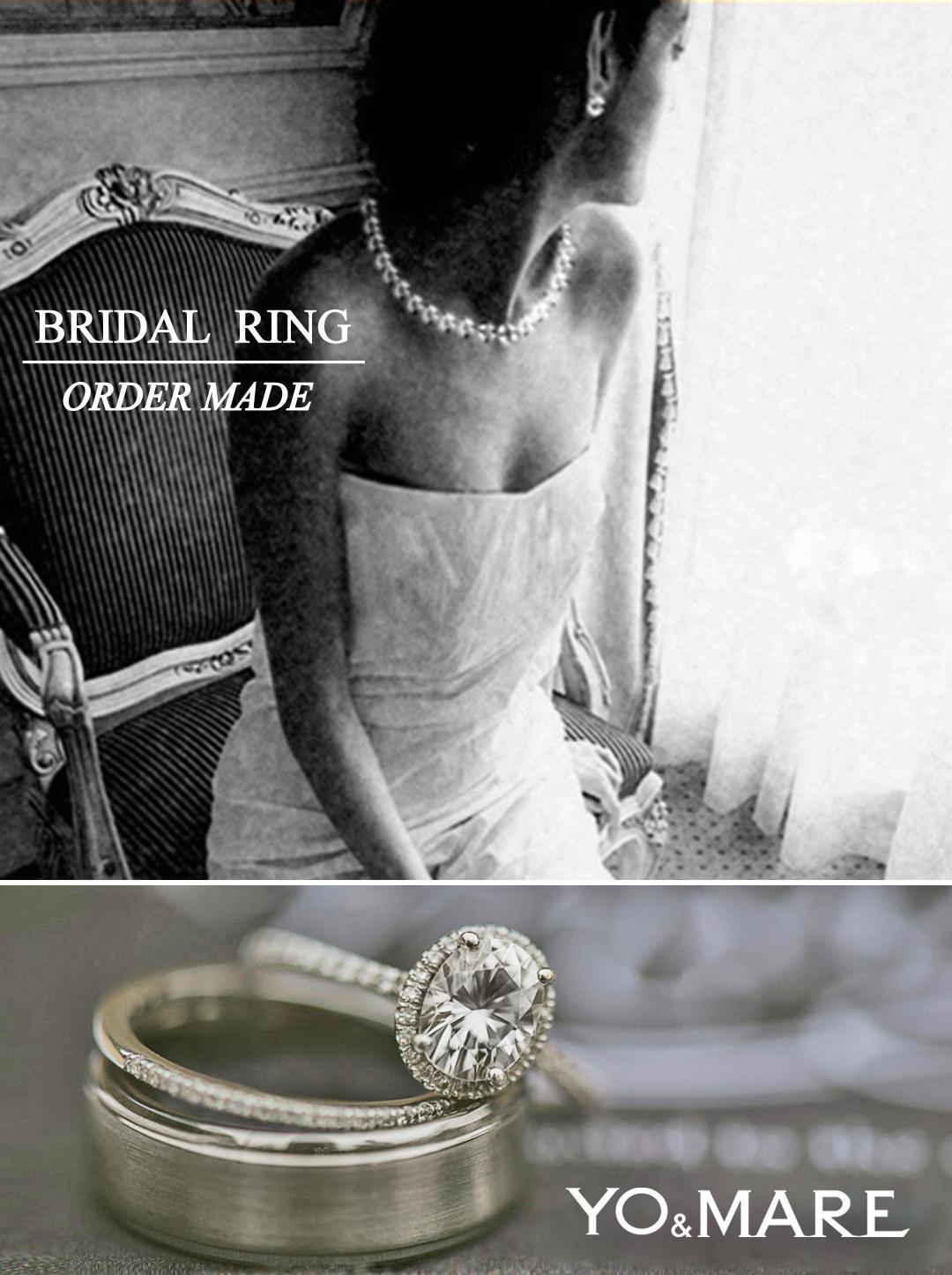 千葉 柏で結婚指輪・婚約指輪を個性的にオーダーメイドデザインするヨーアンドマーレのコンセプト