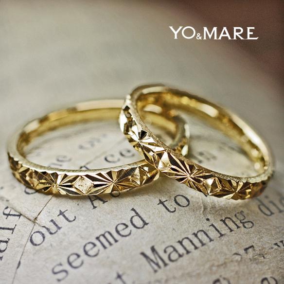 リーズナブルな価格で結婚指輪をオーダーメイドで提供できる