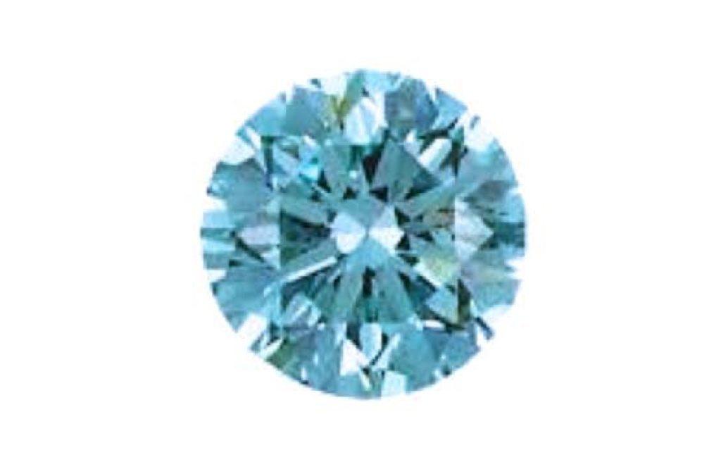 アイスブルーダイヤモンドの裸石