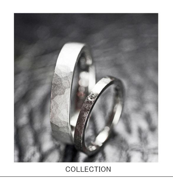 フローズン・凍らせた氷をイメージした結婚指輪コレクション