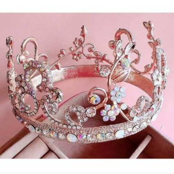 ゴールドティアラの結婚指輪  お客様様希望デザイン 4