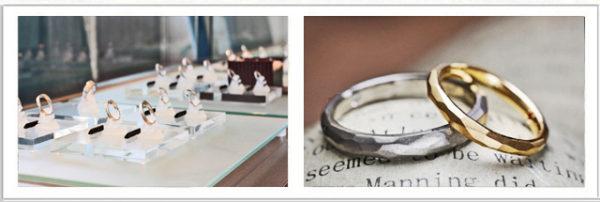 結婚指輪・婚約指輪コレクションを 見て、着けてみる