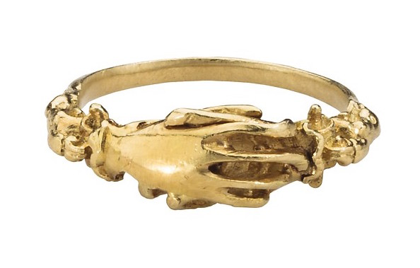フェデレーションリング  金の連邦指輪、16世紀。