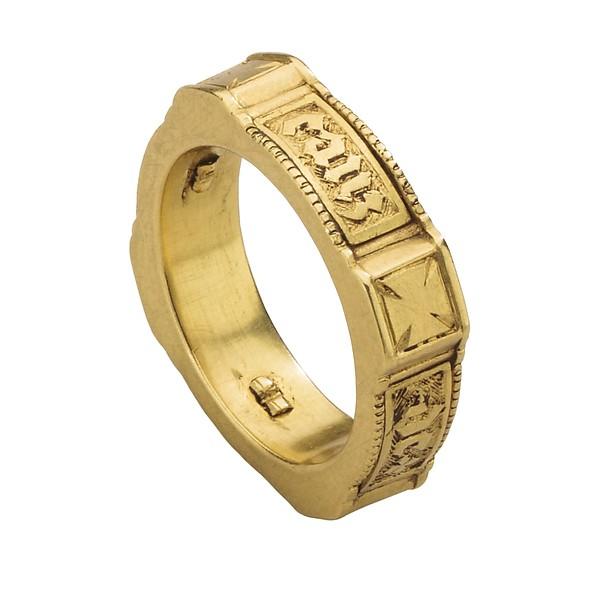 ポシーリング・結婚指輪 ルネサンスP 17世紀  2