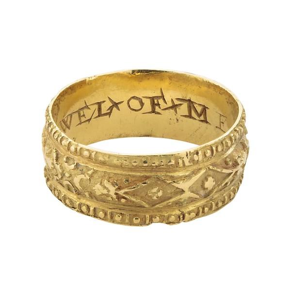 ポシーリング・結婚指輪 ルネサンスP 17世紀  1