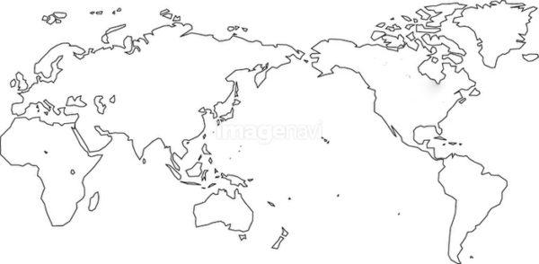 オーダーメイドで結婚指輪の内側に入れる世界地図のデザイン