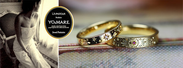 オーダーメイドで結婚指輪をつくるクラフトデザイナー・ヨーアンドマーレ