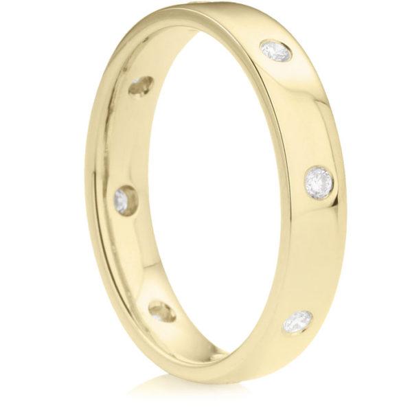 ゴールドの結婚指輪をオーダーメイドする