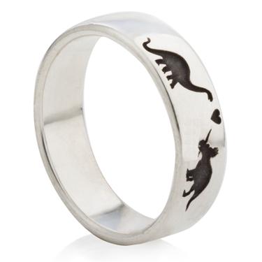 シルバーの結婚指輪をオーダーメイドする