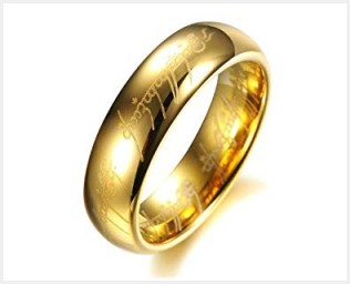 メンズゴールドのオーダーメイド結婚指輪