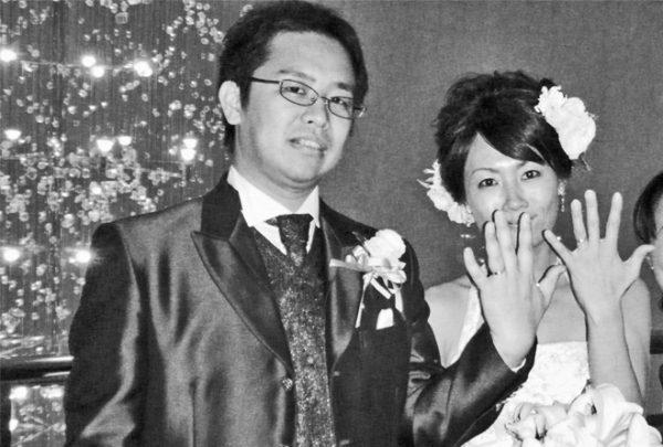 ピンク&ホワイトゴールドでペアの結婚指輪を T様千葉・柏