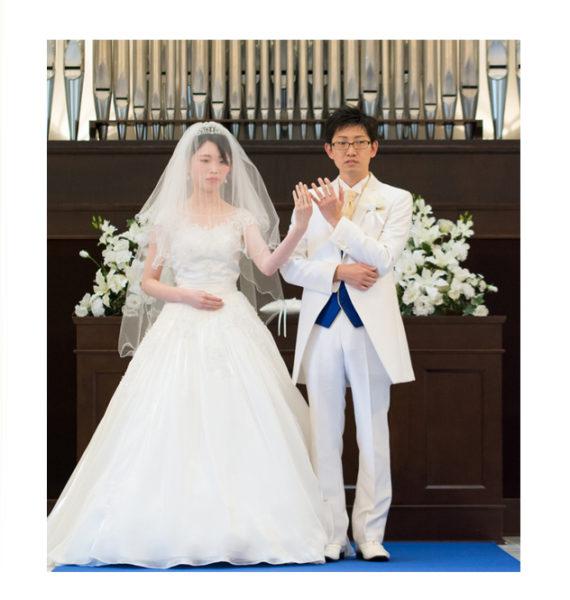 結婚式で世界でたった一つのオーダー結婚指輪を紹介しました!
