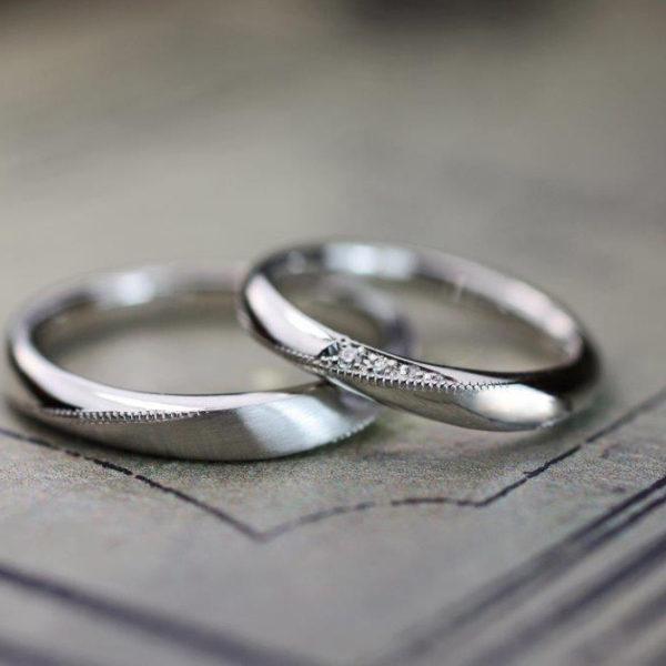 メビウスデザインの結婚指輪をプラチナでオーダーメイドする