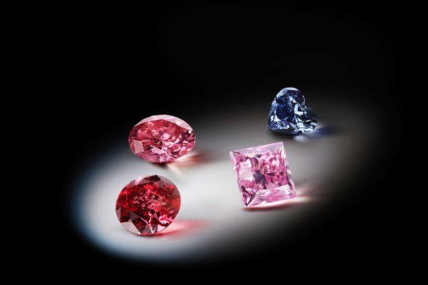 アーガイル鉱山で採掘されるカラーダイヤモンド