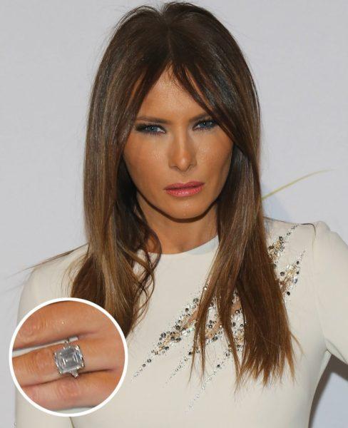 メラニアのオーダーメイド婚約指輪
