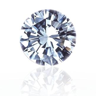ラウンドブリリアントカットのダイヤモンド