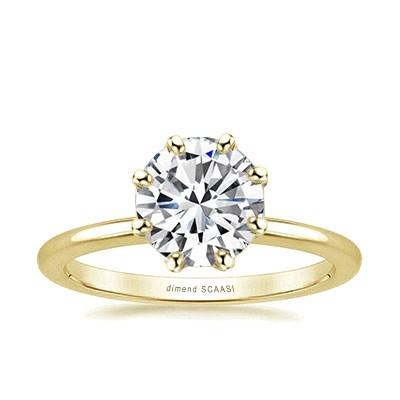 8本爪の婚約指輪