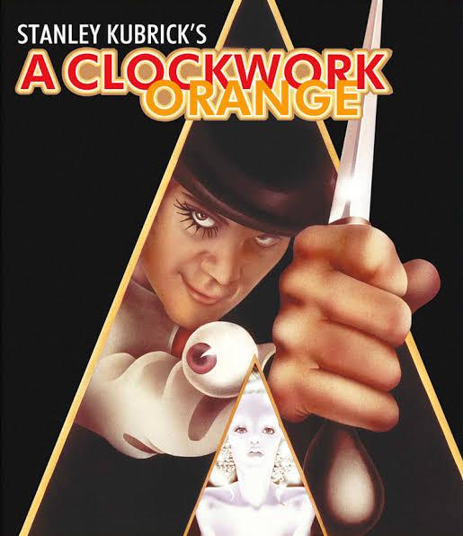 スタンリーキューブリック監督の代表作「時計仕掛けのオレンジ」のジャケット