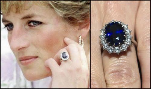 英国王室プリンセスダイアナの婚約指輪