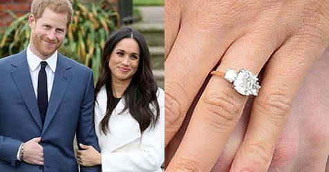 英国王室メーガン妃の婚約指輪