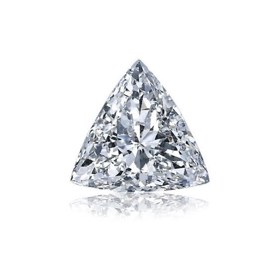 三角形のトリリアントカットダイヤモンド