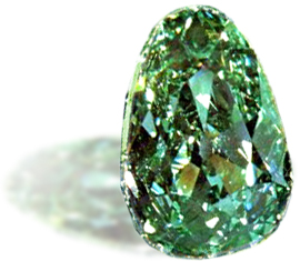 「ドレスデングリーン」ダイヤモンド