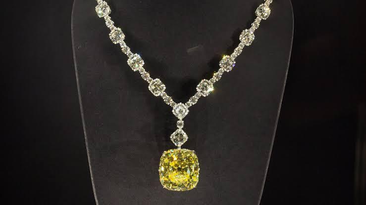 ティファニーイエローのダイヤモンド