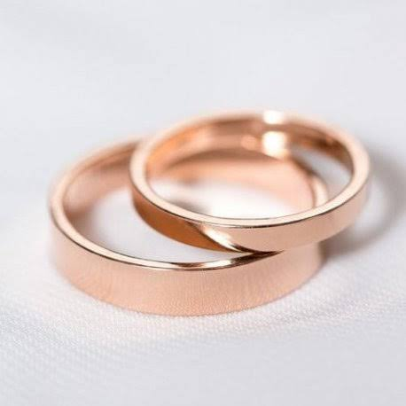 ピンクゴールドの結婚指輪をオーダーメイド
