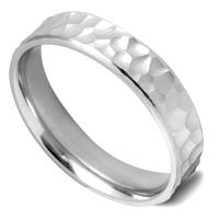 ツチメパターンのオーダー結婚指輪