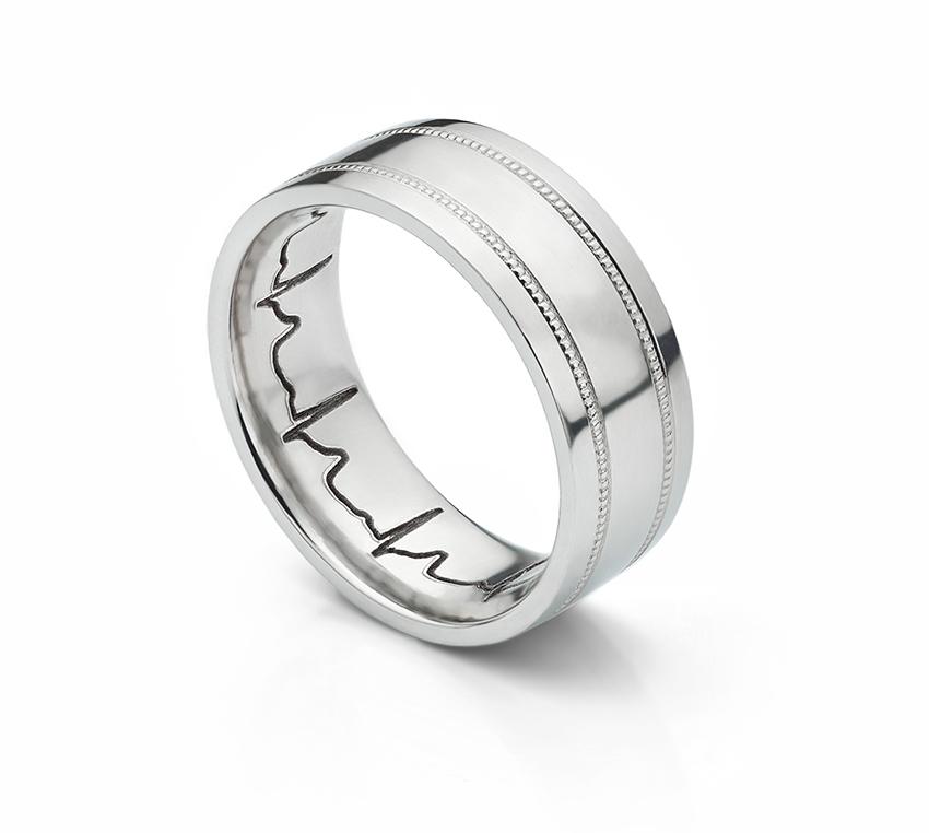 ミルグレインのオーダー結婚指輪