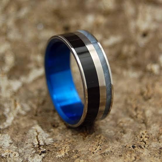 チタン製の指輪はサイズ直しは出来ません