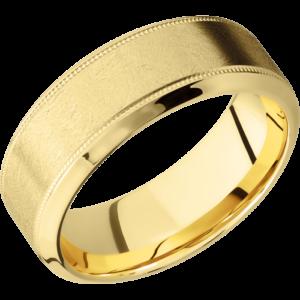 K18イエローゴールドで結婚指輪をオーダーメイドする