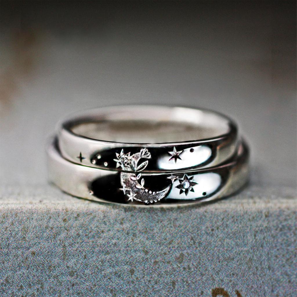 結婚指輪完成確認の後、残額入金にて商品を受け取る