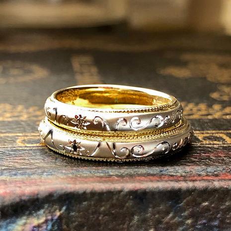 私たち柏のヨー&マーレでオーダーした結婚指輪で挙式を上げました