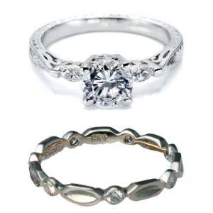 婚約指輪のデザインから選ぶ結婚指輪のオーダーセットリング10選