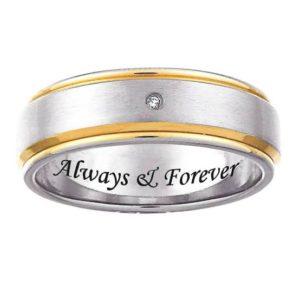結婚指輪の内側に何を入れますか