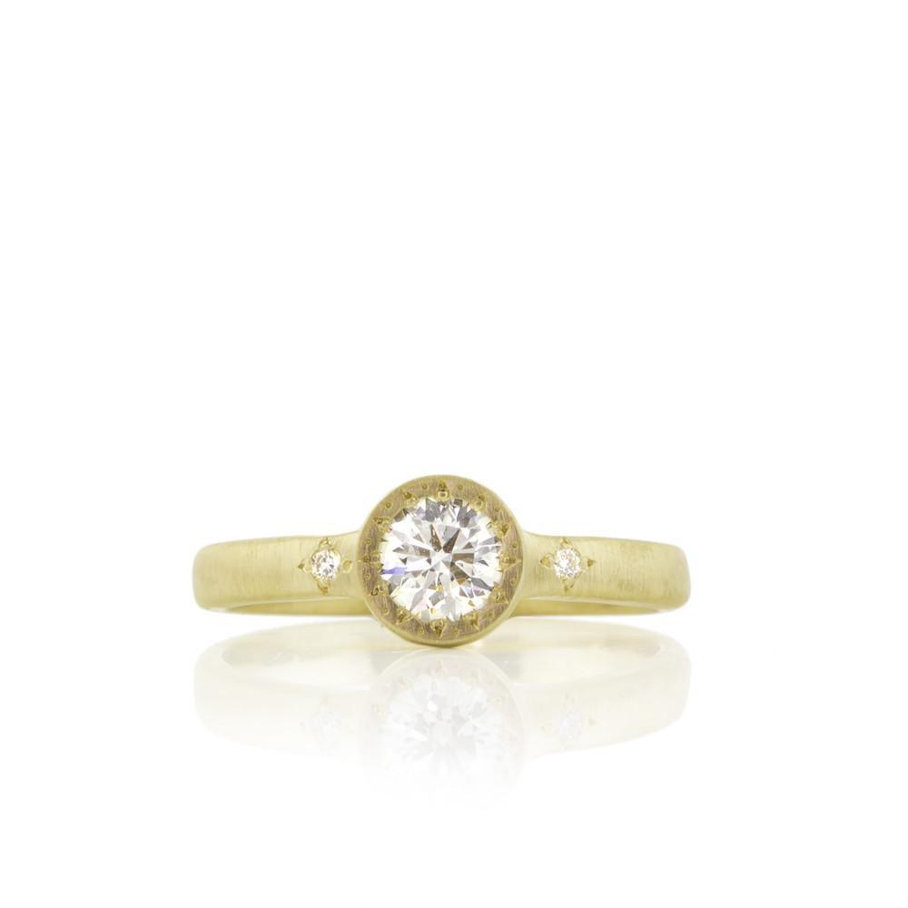 20万円未満のゴージャスな婚約指輪をオーダーメイドした14のリング
