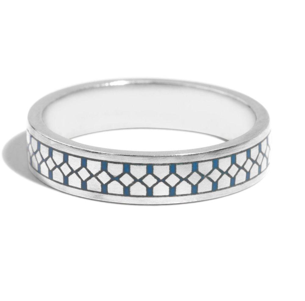 バリオニール・メンズエナメルの結婚指輪