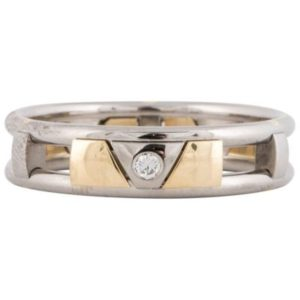クリスチャンバウアー •ゴールドとパラジウムの男性用結婚指輪