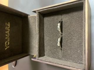 お客様に届いたヨーアンドマーレの結婚指輪