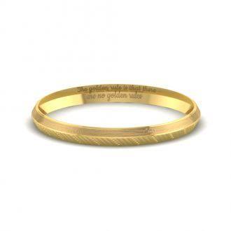 K22ゴールドの結婚指輪をオーダーする