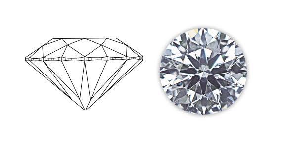 ダイヤの5つのCを組み合わせて良い婚約指輪を安くオーダーする!>>