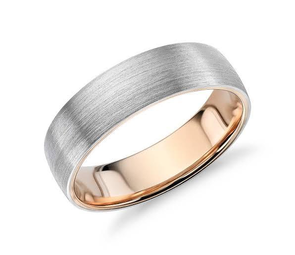 結婚指輪の外側もドーム型にするとつけ心地は良くなる