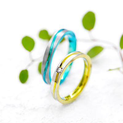 チタン製の結婚指輪