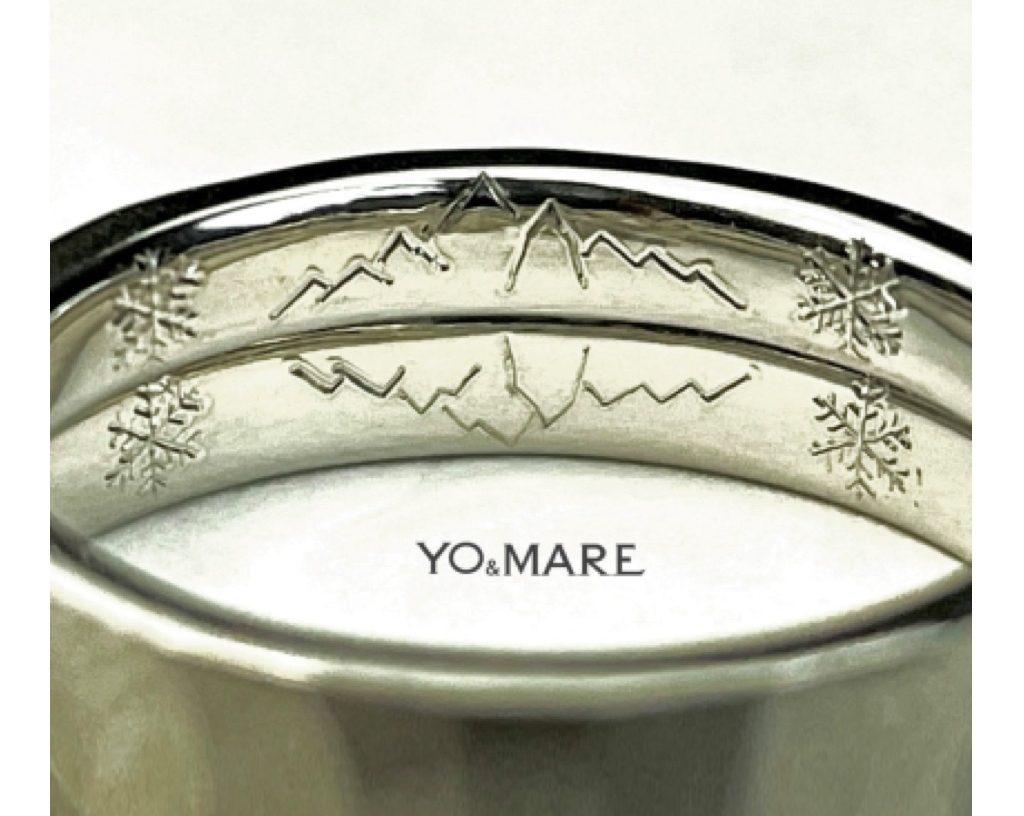 結婚指輪の内側には何をどの様にして入れるのか