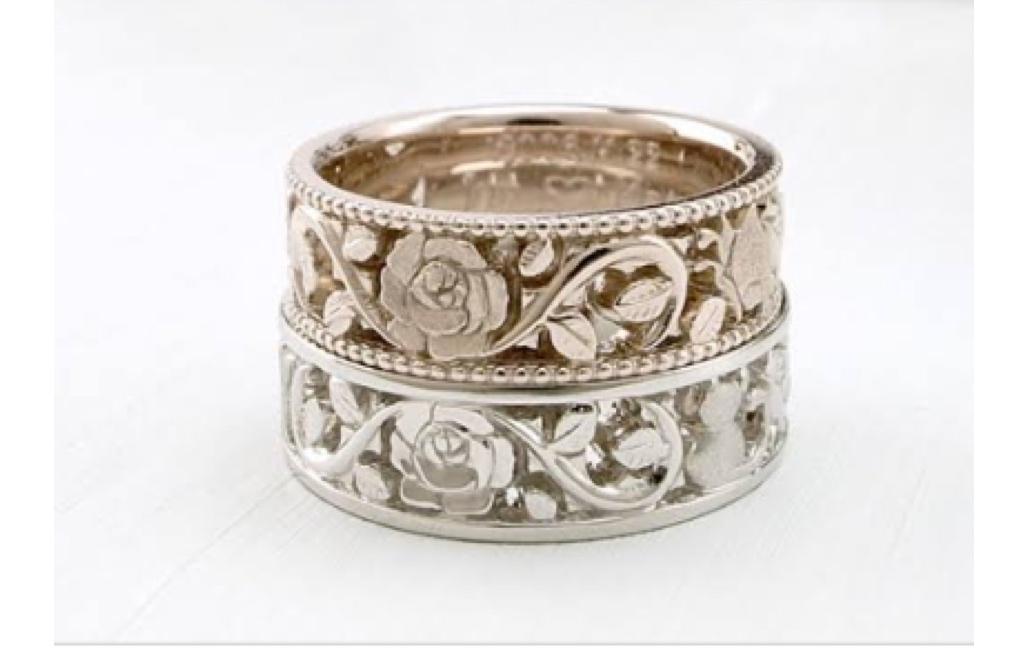 バラの婚約指輪イメージ 2