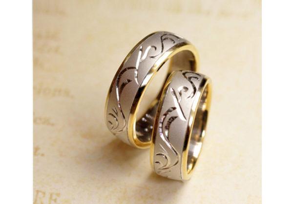 結婚指輪のリング写真をプレゼント