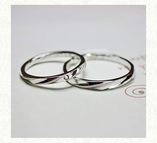 プラチナリリアン、プラチナの結婚指輪コレクション